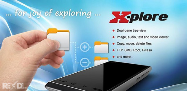X-plore android