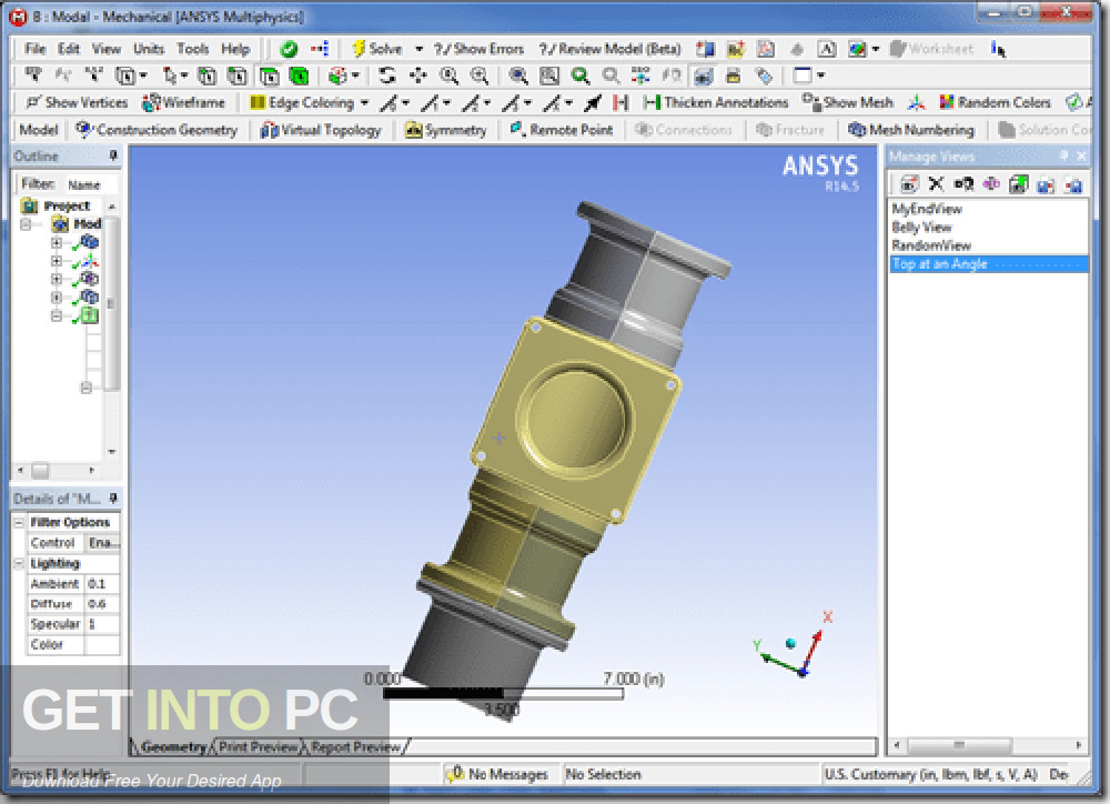 Products ANSYS 2013 32 64-bit direct link Download-GetintoPC.com
