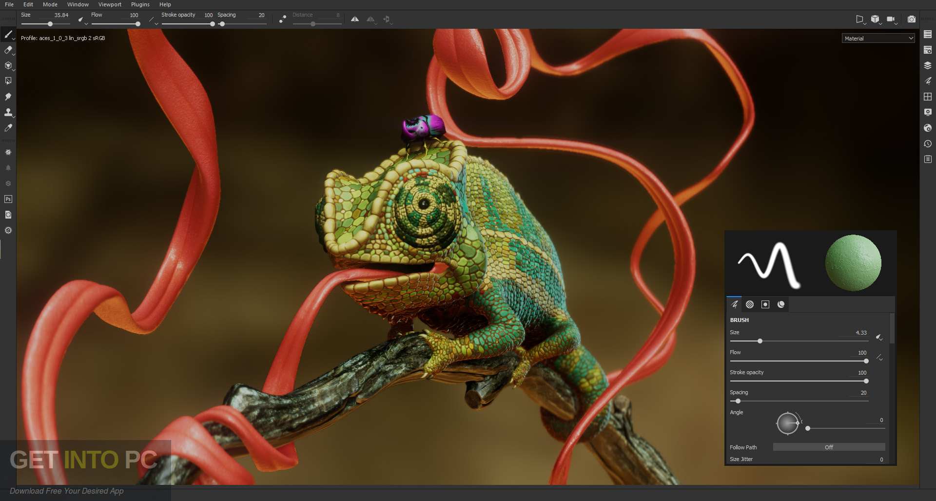 Allegorithmic Substance Painter 2019 Standalone installer Download-GetintoPC.com