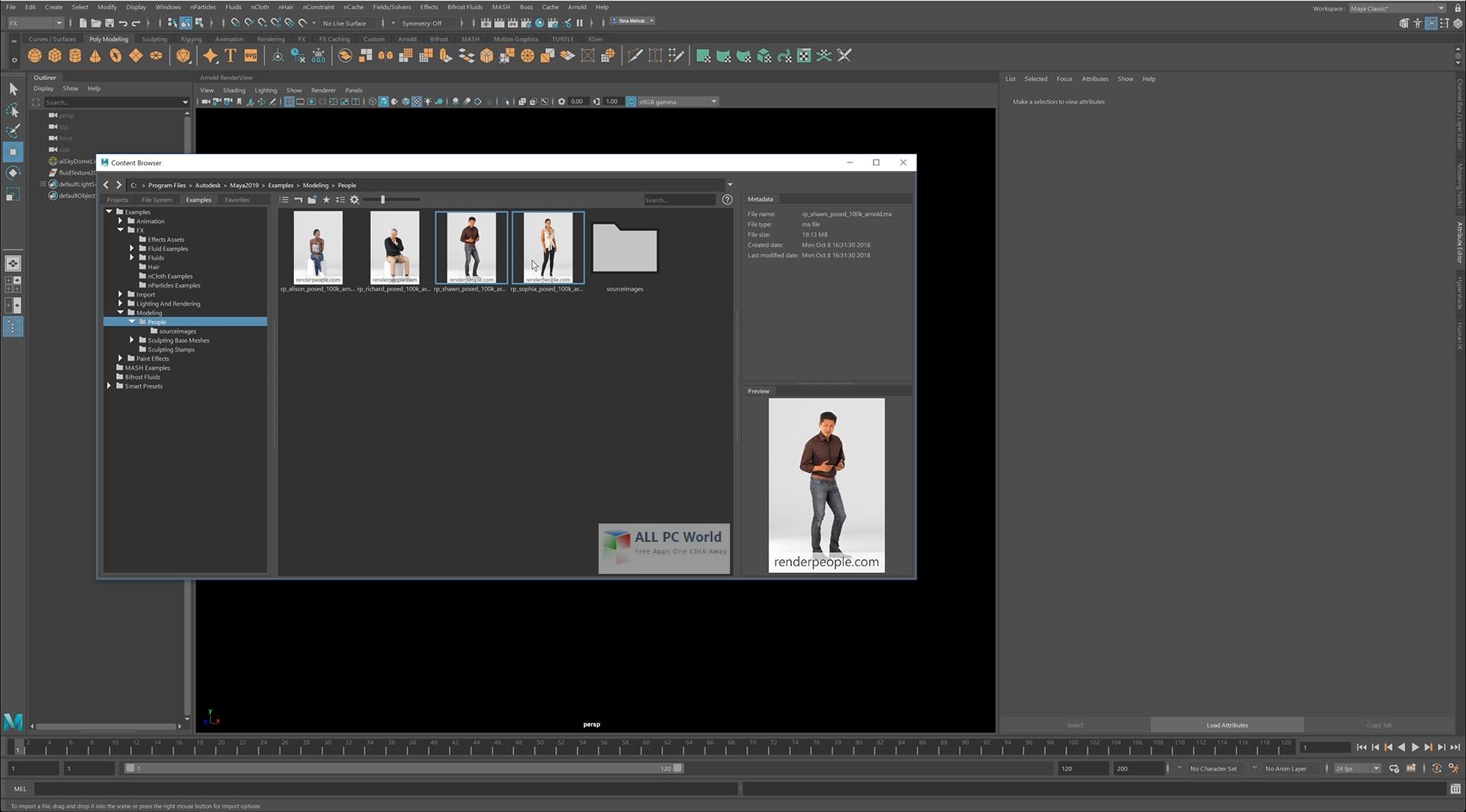 Autodesk Maya 2019 Free Download