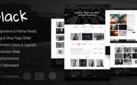 Black - Premium Multi-Purpose WordPress Theme