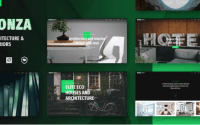Bonza Architecture & Interior WordPress Theme