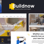 Buildnow - Construction & Building WordPress Theme