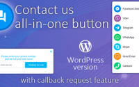 Contact us all-in-one button