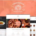 Crab & Spice WordPress theme