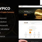 Crypico v1.3 – Crypto Currency WordPress Theme