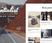 Essentialist v1.2.1 – A Narrative WordPress Blog Theme