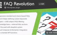 FAQ Revolution WordPress plugin