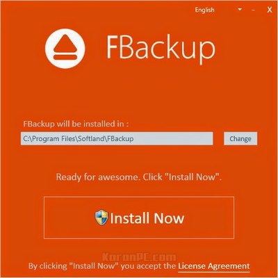 Download FBackup for free