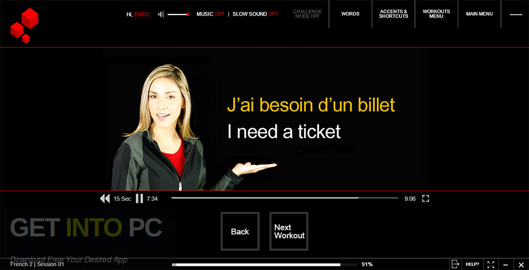 Fluenz French Multilingual Multimedia Course Standalone Installer Download-GetintoPC.com
