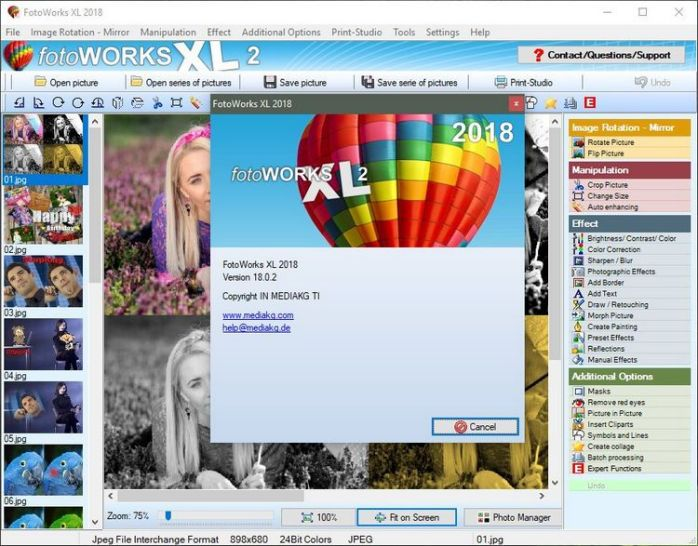 FotoWorks XL Portable 2019 Full Version