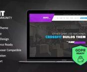 GoFit! - Fitness, Gym and Crossfit WordPress Theme