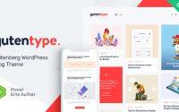 Gutentype v1.8.0 – 100% Gutenberg WordPress Theme