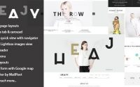Heajy v1.3.2 – Handmade Fashion WordPress Theme