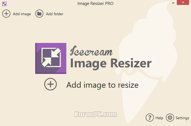 Download IceCream Image Resizer Pro fully.