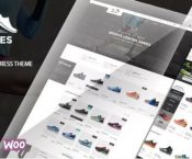 James - Responsive WooCommerce Shoes Theme