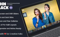 JohnBlack v1.8.1.6 – Photography Fullscreen WordPress Theme