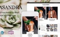 Kasandra - A Responsive WordPress Blog and Shop Theme