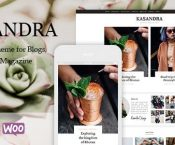 Kasandra v1.0.0 – A Responsive Blog and Shop Theme