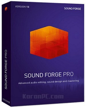 Download full version of MAGIX Sound Forge 13 Pro