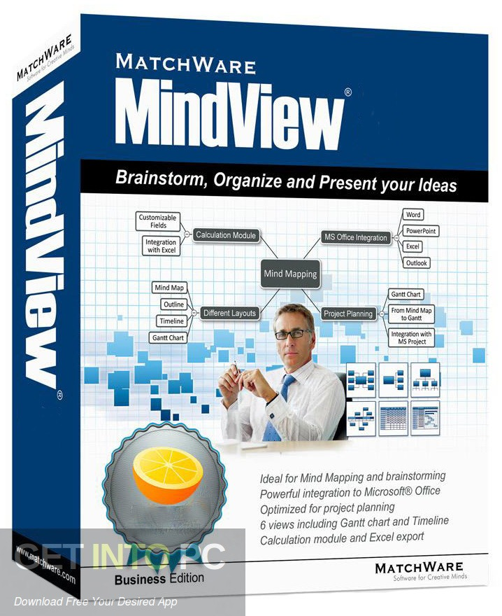 MatchWare MindView Business Edition Free Download - GetintoPC.com