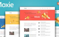 Moxie v1.3.19 – Responsive Theme for WordPress