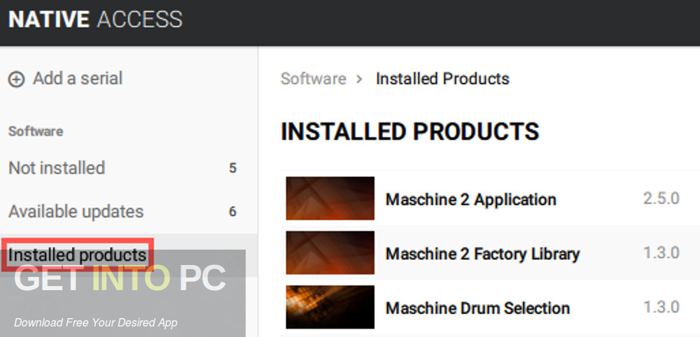 Native tools - Maschine 2 FACTORY LIBRARIES Direct link Download-GetintoPC.com