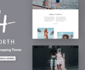North - Responsive WooCommerce Theme