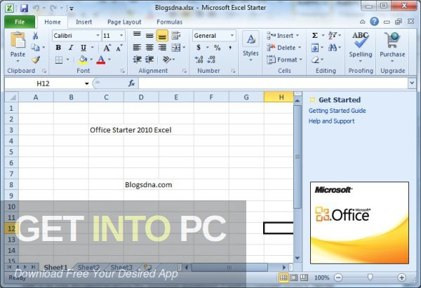 Office 2010 Professional Plus, April 2019, the latest version of Download-GetintoPC.com