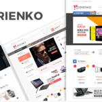 Orienko Wordpress theme