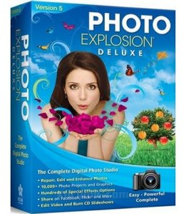 Download full version of Photo Explosion Deluxe 5