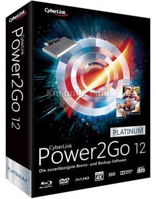Download CyberLink Power2Go Platinum 12 in full