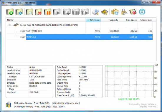PrimoCache Desktop Edition 3.0.2 Download the latest version