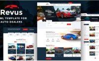 Revus - Autodealer HTML Template