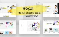 Rexal v1.0 – A Colorful and Modern Multipurpose Theme