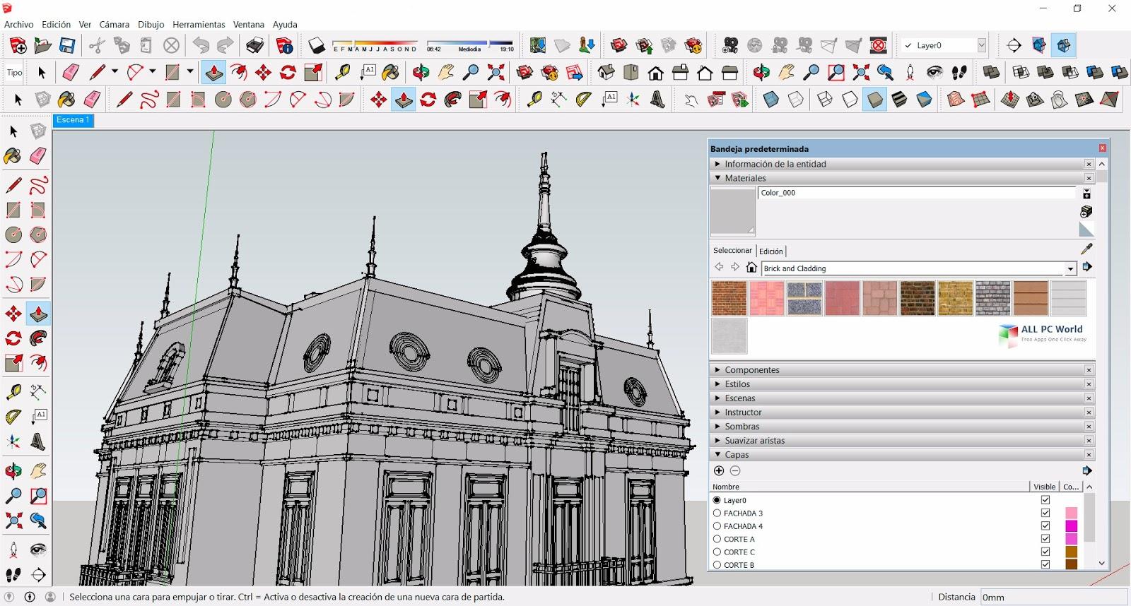 SketchUp Pro 2019 v19.1