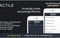 Tactile: WordPress Mobile Menu