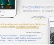 Touchy Wordpress plugin