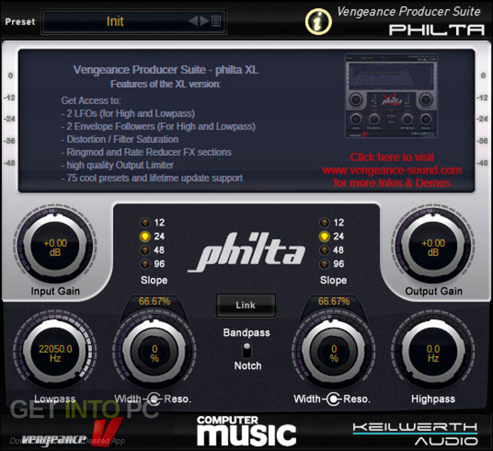 Vengeance Producer Suite: Philta XL (version for CM) Direct link Download-GetintoPC.com