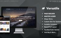 Versatile v1.3.1 – Responsive Multi-Purpose WP Theme