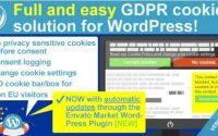 WeePie Cookie Allow WordPress Plugin