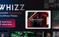 Whizz v2.0.0 – Photography WordPress for Photography