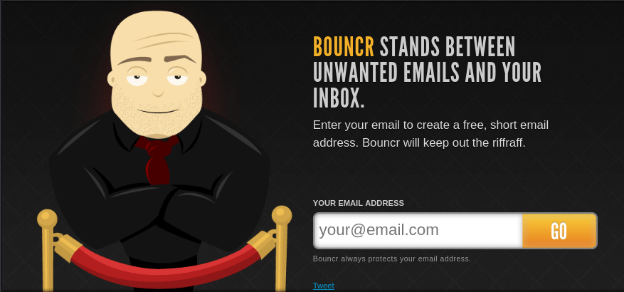 Bouncr Temporary Email