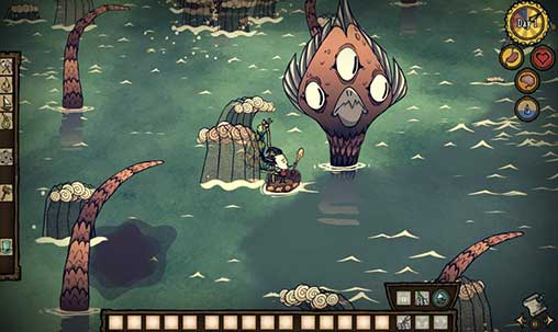 Do not starve: Shipwrecked Apk