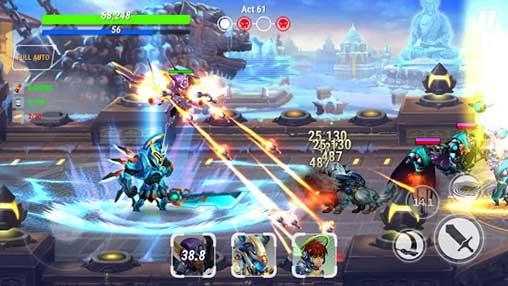 Heroes of Infinity: God of Warriors Apk