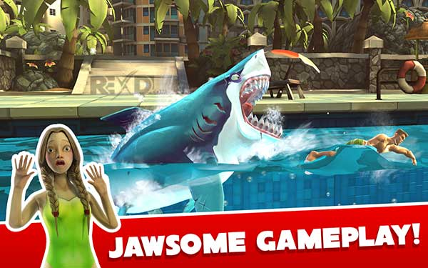 The hungry world of sharks apk