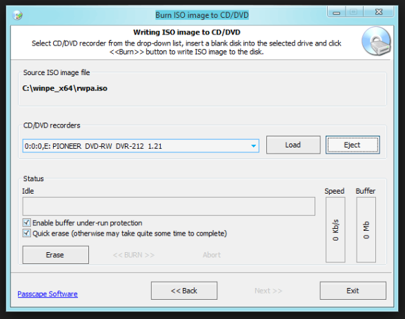 USB boot software for Windows 10