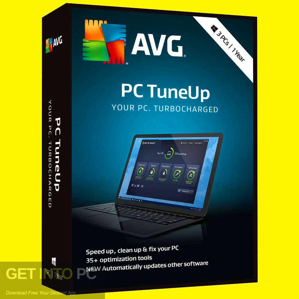 AVG TuneUp 2019 Free Download - GetIntoPC.com