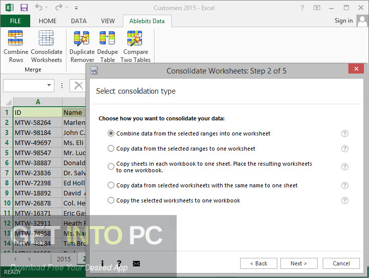 Ablebits Ultimate Suite 2014 for a direct link to Microsoft Excel Download-GetintoPC.com