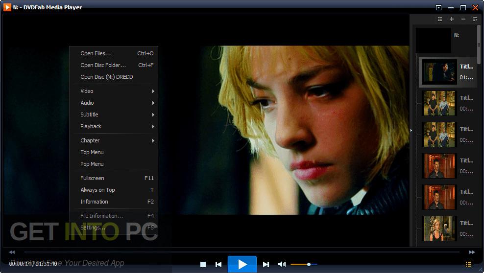 DVDFab Player Ultra 2019 Standalone Installer Download-GetintoPC.com